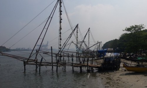 Zdjecie INDIE / Kerala / Kochin / Chińskie sieci