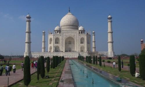 INDIE / Azja / Agra / Taj Mahal
