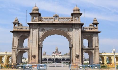 INDIE / Karnataka / Mysore / Pałac w Mysore