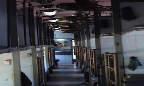 INDIE / Tamilnadu / Madurai / w pociągu