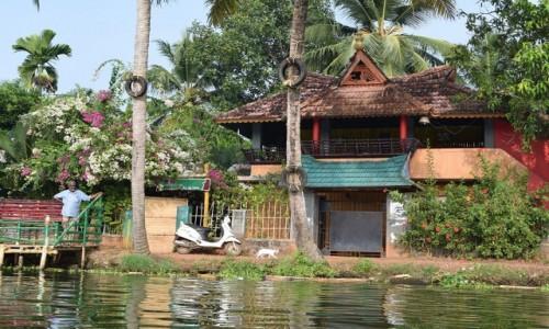 INDIE / Kerala / Alappuzha / dom kierownika