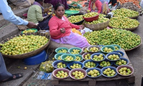 Zdjecie INDIE / Karnataka / Bangalore / Bangalore Fruit Market 2
