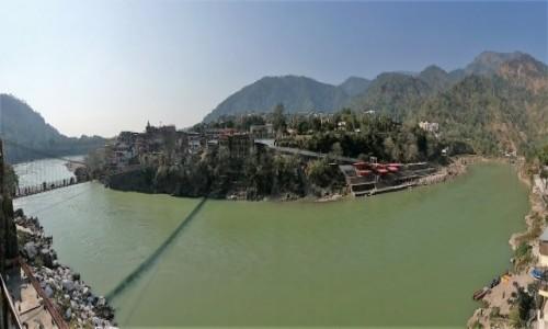 Zdjecie INDIE / Uttarakhand / Riszikes / Ganges