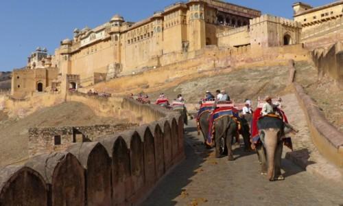 Zdjęcie INDIE / Radżastan / Amber / Fort  Amber