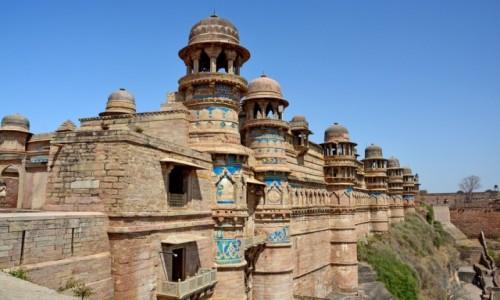 Zdjecie INDIE / Madhya Pradesh / Gwalior / Gwalior Fort
