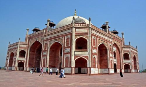 Zdjecie INDIE / - /  Nowe Delhi / Grobowiec Humajuna