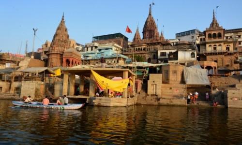 Zdjecie INDIE / - / Varanasi / Varanasi o świcie