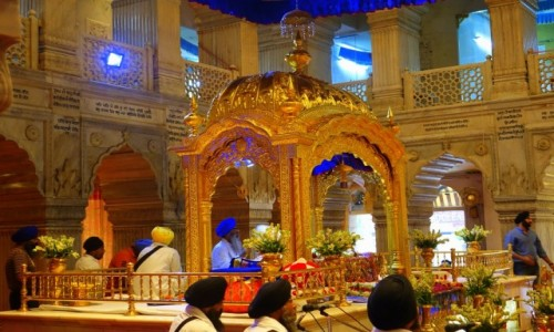 Zdjecie INDIE / Delhi / Felhi / Świątynia  Sikchów