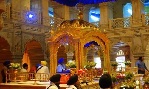 INDIE / Delhi / Felhi / Świątynia  Sikchów