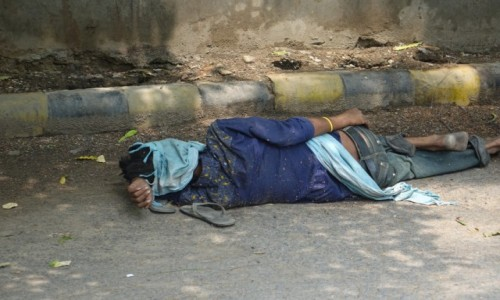 INDIE / Delhi / Delhi / Senność
