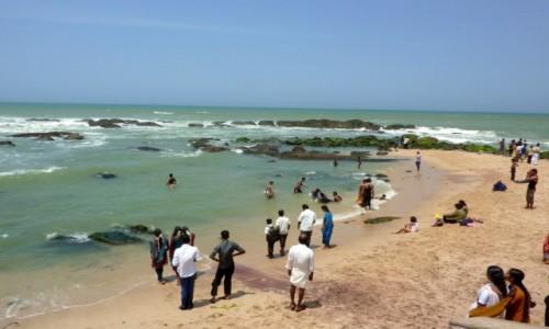 Zdjecie INDIE / Tamil Nadu / Kanyakumari / kąpiel