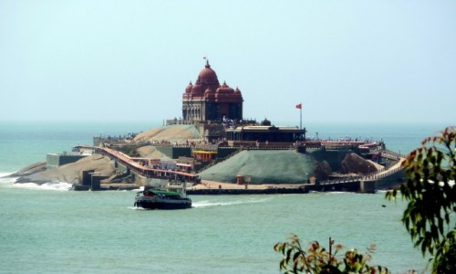INDIE / Tamil Nadu / Kanyakumari / Pomnik Vivekananda Rock