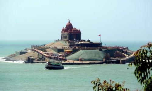 Zdjecie INDIE / Tamil Nadu / Kanyakumari / Pomnik Vivekananda Rock