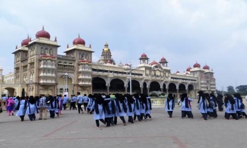 INDIE / Karnataka / Ambra Vilas, Majsur / Wycieczka