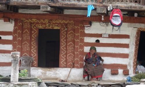 Zdjecie INDIE / Himalai Pradesz  / Manali / Pod domem
