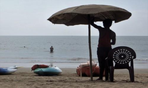 Zdjęcie INDIE / Goa / Palolem / plażowanie
