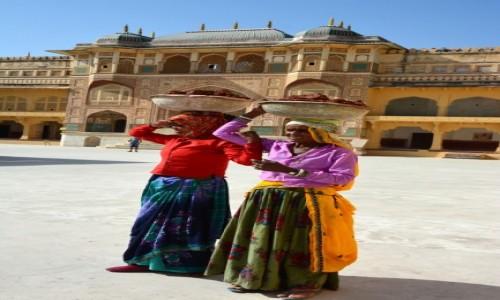 Zdjęcie INDIE / Radżastan /  Fort Amber / Kobiety