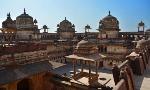 Zdjęcie INDIE / - / Orchha / Jahangir Mahal Orchha