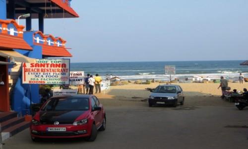 Zdjęcie INDIE / Tamilnadu / Mamallapuram / bluesowo