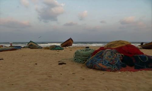 Zdjęcie INDIE / Tamilnadu / Mamallapuram / o poranku