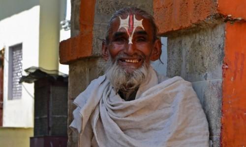 Zdjęcie INDIE / - / Orchha / Sadhu