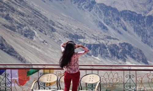 Zdjęcie INDIE / Dolina Nubry / Dolina Nubry / wiatr we włosach