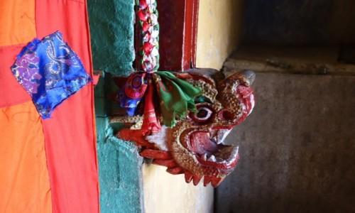 Zdjęcie INDIE / Dolina Nubry / Dolina Nubry / ozdoba w swiątyni