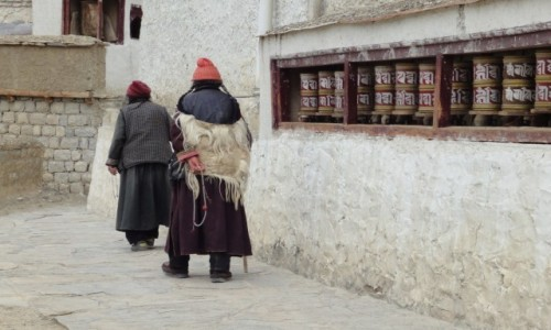 INDIE / Dżammu i Kaszmir / Leh / Lamayuru Monastery