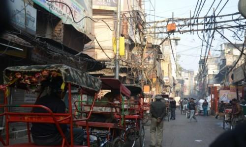 Zdjecie INDIE / - / Delhi / Rikszą przez Delhi