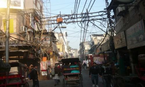 INDIE / - / Delhi / Ulice Delhi