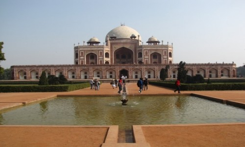 Zdjecie INDIE / - / Delhi / Grobowiec Humajuna