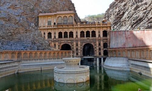 Zdjecie INDIE / - / Galta / Galta-Świątynia małp