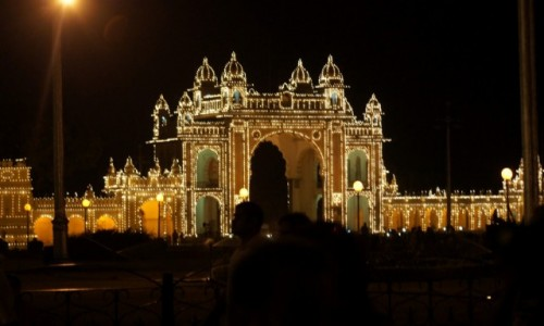 Zdjecie INDIE / Karnataka / Majsur / Pałac maharadżów