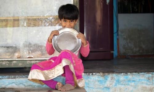 Zdjecie INDIE / Karnataka / hampi / Dziewczynka