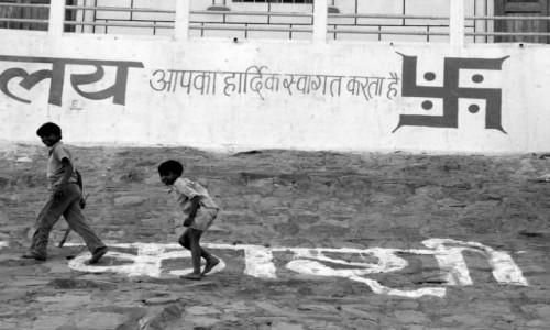 Zdjecie INDIE / - / Varanasi / Powrót z pracy