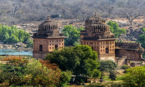 Zdjecie INDIE / - / Orchha / Orchha-Cenotafy