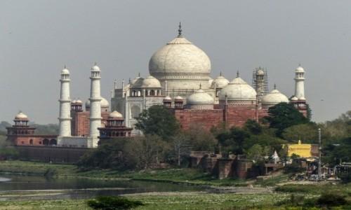 Zdjęcie INDIE / - / Agra / Tadź Mahal z innej strony