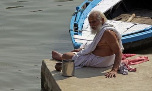 Zdjęcie INDIE / Uttar Pradesh / Varanasi / Twarze Indii 7