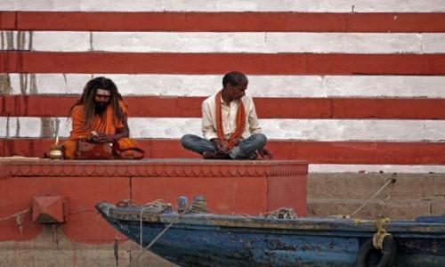 Zdjecie INDIE / Uttar Pradesh / Varanasi / Twarze Indii 8
