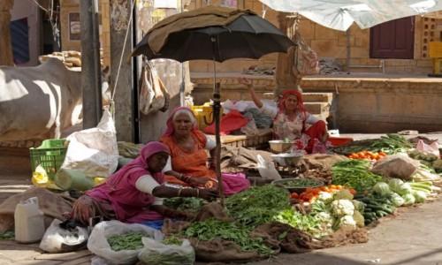 Zdjęcie INDIE / Radzasthan / Jaisalmer / Ryneczek Lidla po Indyjsku