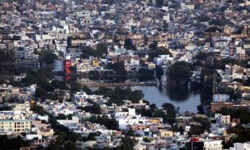 Zdjęcie INDIE / Radzasthan / Udaipur / Wyspa wśród murów