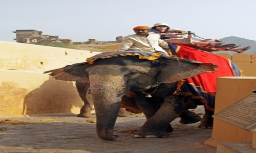 Zdjecie INDIE / Radzasthan / Jaipur / Taxi