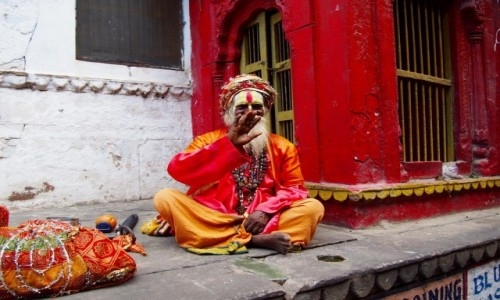 Zdjecie INDIE / Uttar Pradesh / Varanasi / Powitanie w Varanasi