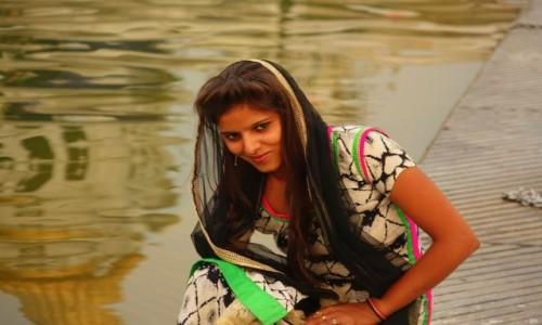 Zdjecie INDIE / Delhi / Delhi / Uśmiech