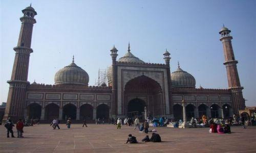 Zdjecie INDIE / Delhi / Old Deli / Największy meczet w Indiach