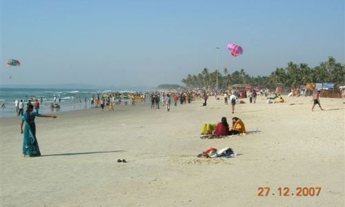 Zdjecie INDIE / Goa / Colva Beach / plaże Goa