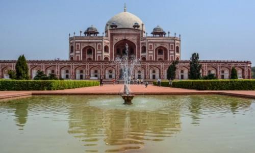 Zdjecie INDIE / Delhi / Delhi / Grobowiec Humajuna