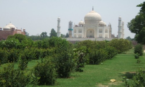 INDIE / Uttar Pradeś / Agra / Taj Mahal