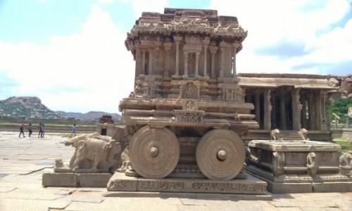 INDIE / Karnataka / Hampi / Świątynia Wittalaya w Hampi