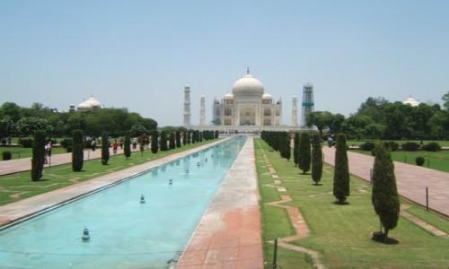 Zdjęcie INDIE / Uttar Pradeś / Agra / Taj Mahal